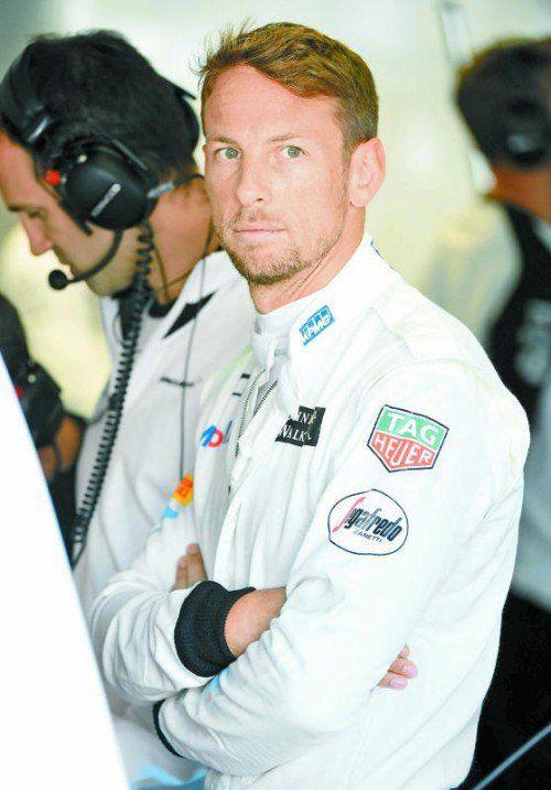 Sitzt seit 2010 im McLaren: Jenson Button.