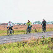 45 km Radweg im Nationalpark