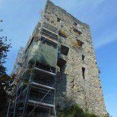 Winterpause für Ruine Montfort
