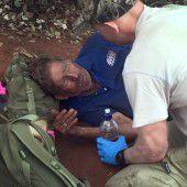 Mann überlebt sechs Tage ohne Wasser