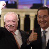 Häupl gewinnt Wahl in Wien klar vor Strache