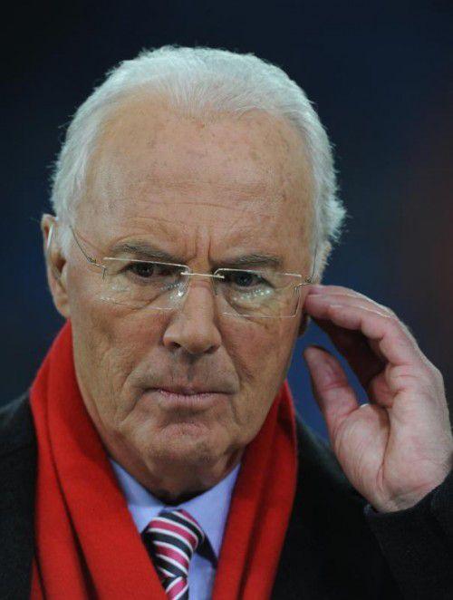 Über Lichtgestalt Beckenbauer legt sich ein Schatten.
