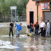 Fünf Tote bei heftigen Unwettern in Italien