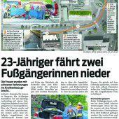 Teilbedingte Haft für Raser nach Horrorunfall in Bregenz
