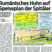Krankenhauskost ist Thema im Landtag