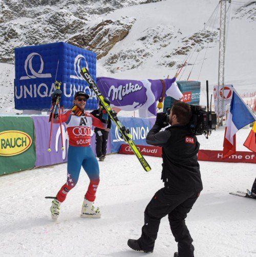Weltcupsieg Nummer 25 für Ted Ligety – der Amerikaner spielte beim Riesentorlauf in Sölden seine blendende Form aus.