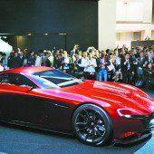Mazda feiert Comeback des Wankelmotors