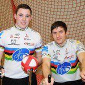 Für die Radballer geht es um das Weltcup-Finale
