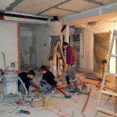 Hotel-Ausbau in Feldkirch geht in die Endphase