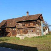 Vorarlberg Einst und Jetzt. Ammann-Haus in Lustenau