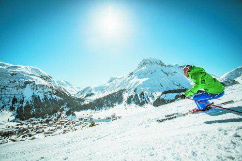 350 Kilometer Skiabfahrten und herrliche Ausblicke: Was will man mehr?
