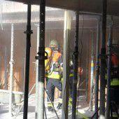 Feuerwehreinsatz wegen umgekippter Gasflasche