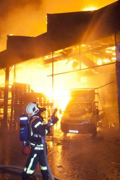 Auch Feuerungsanlagen zur Wärmeerzeugung können zu verheerenden Bränden führen.