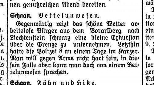 Bericht einer Tageszeitung im Juni 1937.