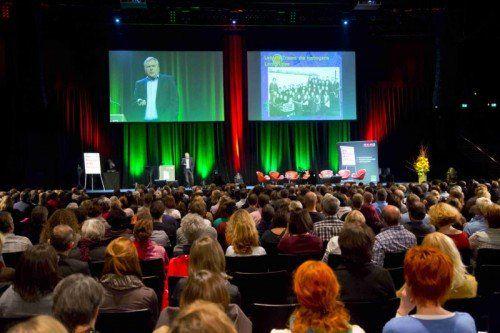 Bildung interessiert. Das bewies der große Zulauf beim Bildungsforum der Wirtschaftskammer in Bregenz.