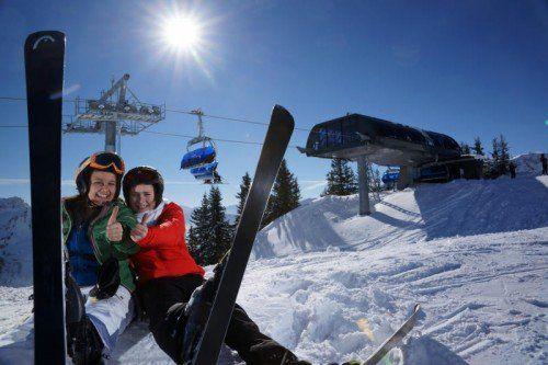 Skivergnügen bieten auch in dieser Saison wieder die schneereichen Gebiete im Bregenzerwald.