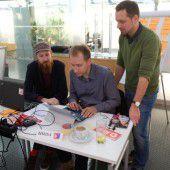 VN-Team bei den Vienna Hackdays