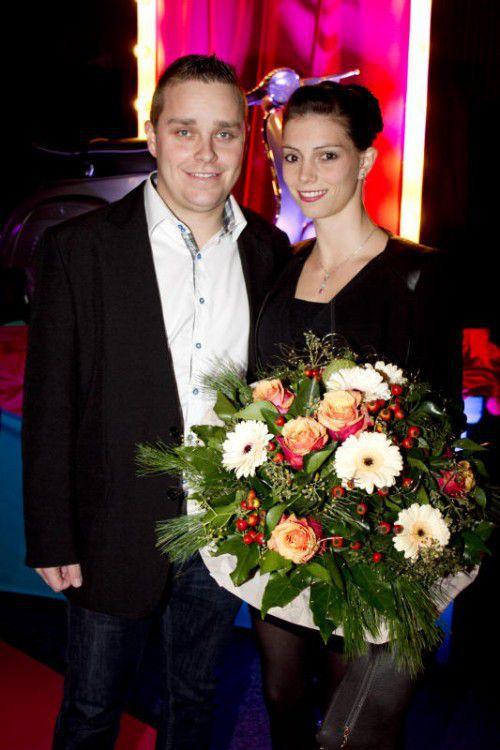 David Niederer und Sandra Melcher.