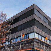 Campus in Dornbirn mit zeitgemäßer Fassade