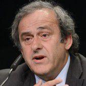 UEFA-Präsident Platini legte Einspruch ein