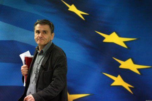 Der griechische Finanzminister Euclid Tsakalotos verhandelte mit den europäischen Geldgebern.