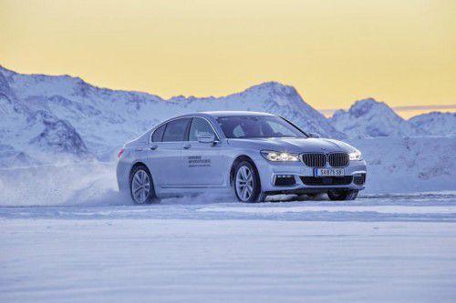 Der neue BMW 7er beweist auch auf Eis- und Schnee bayerische Souveränität.