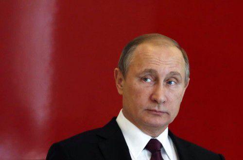 Der russische Präsident Putin verstärkte die Angriffe.