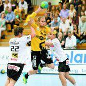 Hansen und Warvne als Matchwinner