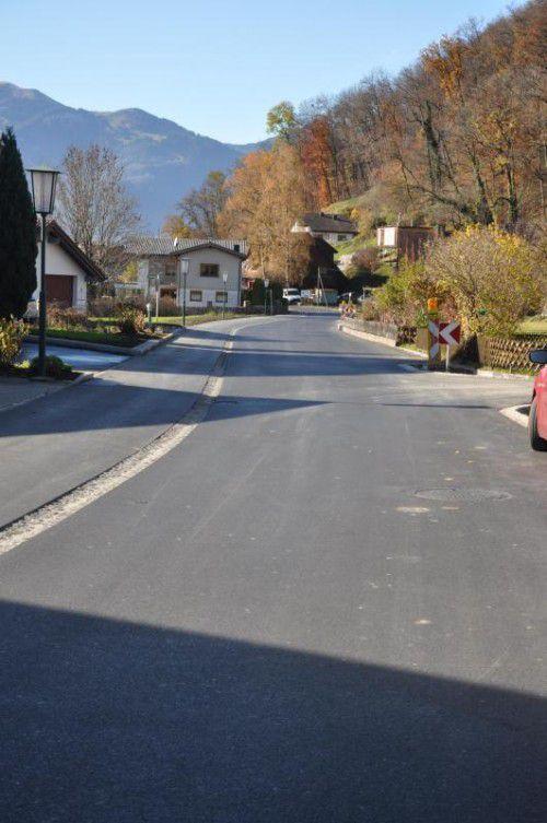 Der Untere Sattelberg in Klaus ist wieder frei befahrbar.