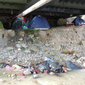 Bürgermeister werden keine Zelte mehr dulden