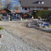 Friedhofswege in Nenzing werden saniert