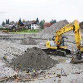 Baustart für VS Unterdorf