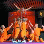 Die Shaolin-Mönche kommen nach Bregenz