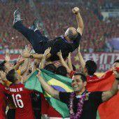 Excoach von Brasilien feiert CL-Sieg in Asien