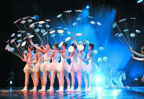 Die Meisterakrobaten des Chinesischen Nationalcircus gastieren im Festspiel- und Kongresshaus Bregenz.