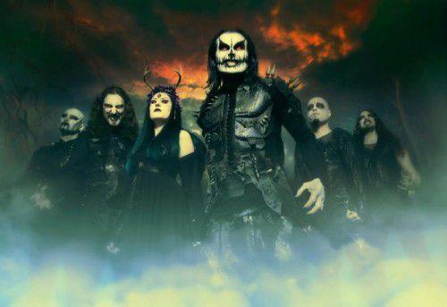 """Die Metal-Band Cradle Of Filth lässt es mit ihrem neuen Album """"Hammer Of The Witches"""" krachen."""