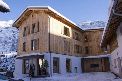 Konnte noch vor EU-Bescheid in die Tat umgesetzt werden: das Haus Nr. 196 für betreutes Wohnen in Lech.
