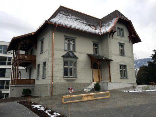 Die Sanierungsarbeiten in der Bludenzer Villa allerArt laufen noch bis Frühjahr 2016.