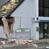 Erneut Eingang einer Bank gesprengt