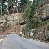 Pfänderstraße in Lochau wird abgesichert