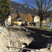 Gerberstraße in Bludenz wird runderneuert