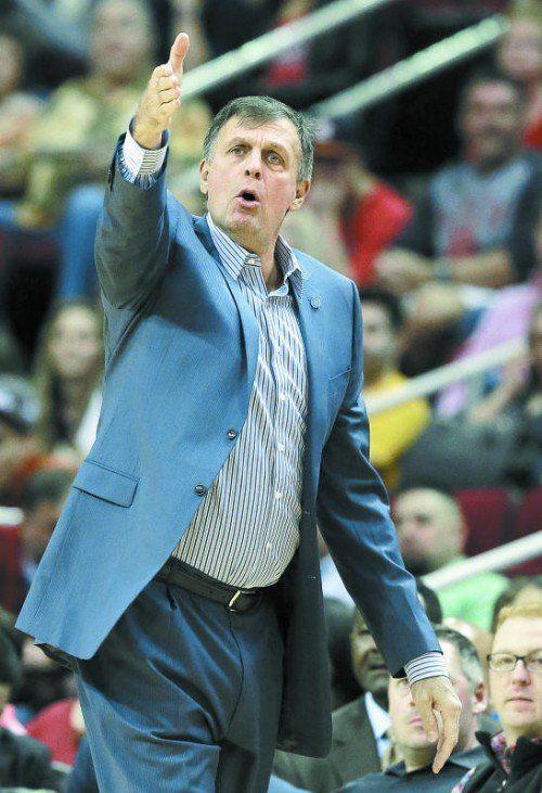Dirigierte die Rockets seit 2011: Kevin McHale.