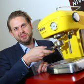 Kaffee für Elektrohandel