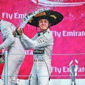 Rosberg dominierte die Fiesta