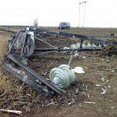 Komplette Krim vom Strom abgeschnitten