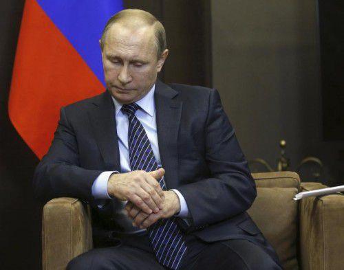 """""""Es ist klar, dass es Folgen geben muss"""", hieß es aus Kreisen des russischen Präsidenten Wladimir Putin."""
