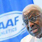 IOC-Exekutive suspendierte Lamine Diack