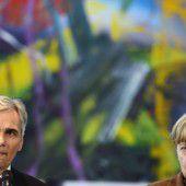 Faymann und Merkel rufen zu mehr Tempo auf