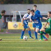 Fußball, Vorarlbergs Ligen im Überblick – Vorarlbergliga bis 5. Landesklasse (12. Spieltag)