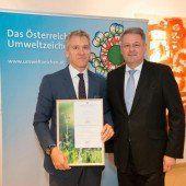 Schoeller mit Ecolabel ausgezeichnet